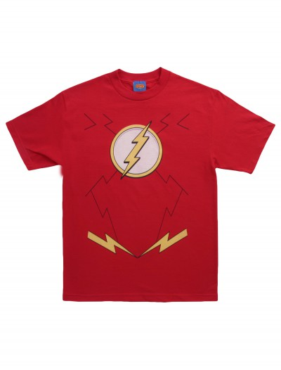 New Flash Costume T-Shirt, halloween costume (New Flash Costume T-Shirt)