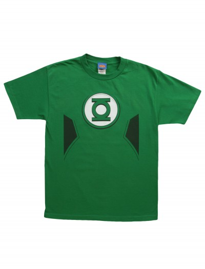 New Green Lantern Costume T-Shirt, halloween costume (New Green Lantern Costume T-Shirt)