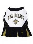 New Orleans Saints Dog Cheerleader Outfit, halloween costume (New Orleans Saints Dog Cheerleader Outfit)