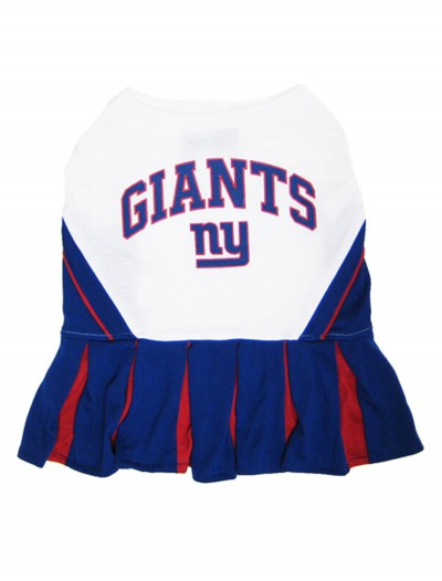 New York Giants Dog Cheerleader Outfit, halloween costume (New York Giants Dog Cheerleader Outfit)