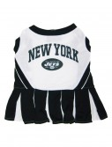 New York Jets Dog Cheerleader Outfit, halloween costume (New York Jets Dog Cheerleader Outfit)