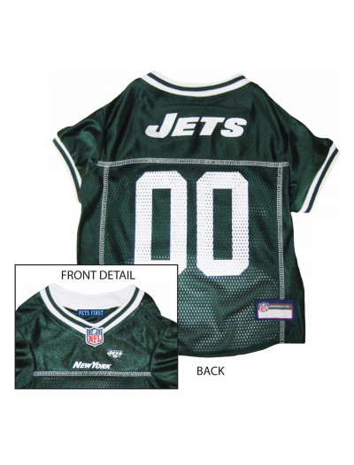New York Jets Dog Mesh Jersey, halloween costume (New York Jets Dog Mesh Jersey)