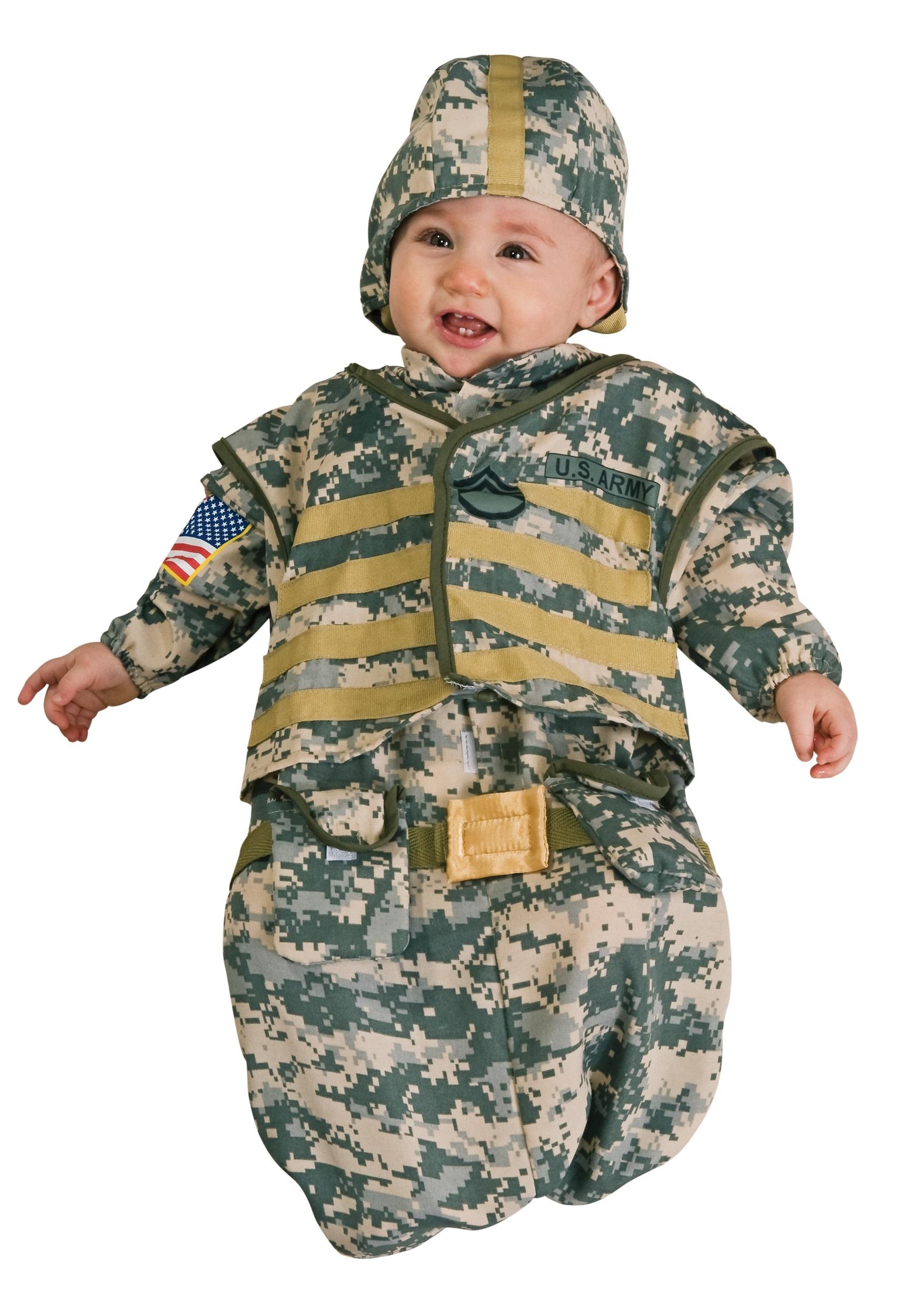 newborn soldier costume