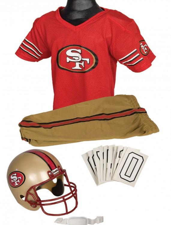 NFL 49ers Uniform Costume, halloween costume (NFL 49ers Uniform Costume)
