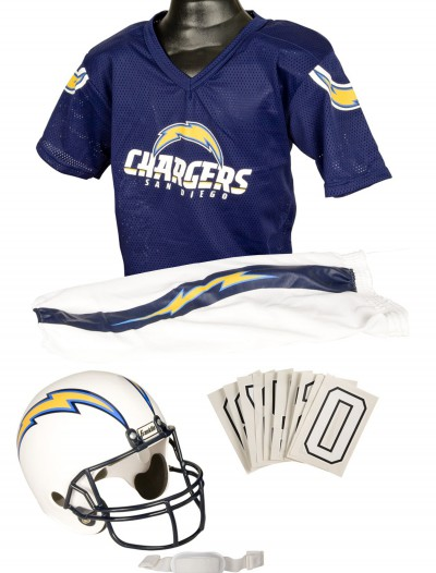 NFL Chargers Uniform Costume, halloween costume (NFL Chargers Uniform Costume)
