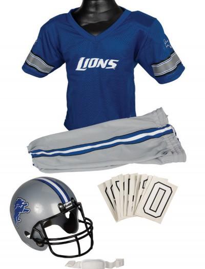 NFL Lions Uniform Costume, halloween costume (NFL Lions Uniform Costume)