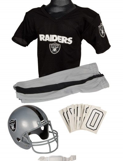 NFL Raiders Uniform Costume, halloween costume (NFL Raiders Uniform Costume)