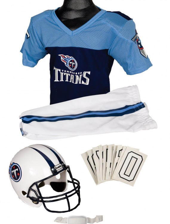 NFL Titans Uniform Costume, halloween costume (NFL Titans Uniform Costume)