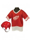 NHL Detroit Red Wings Kid's Uniform Set, halloween costume (NHL Detroit Red Wings Kid's Uniform Set)