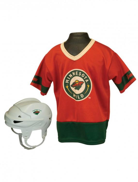 NHL Minnesota Wild Kid's Uniform Set, halloween costume (NHL Minnesota Wild Kid's Uniform Set)