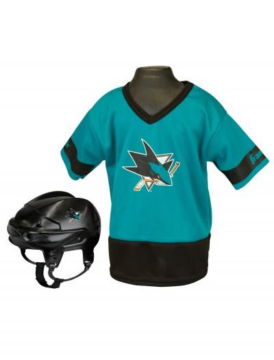 NHL San Jose Sharks Kid's Uniform Set, halloween costume (NHL San Jose Sharks Kid's Uniform Set)