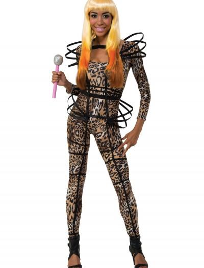 Nicki Minaj Leopard Catsuit, halloween costume (Nicki Minaj Leopard Catsuit)