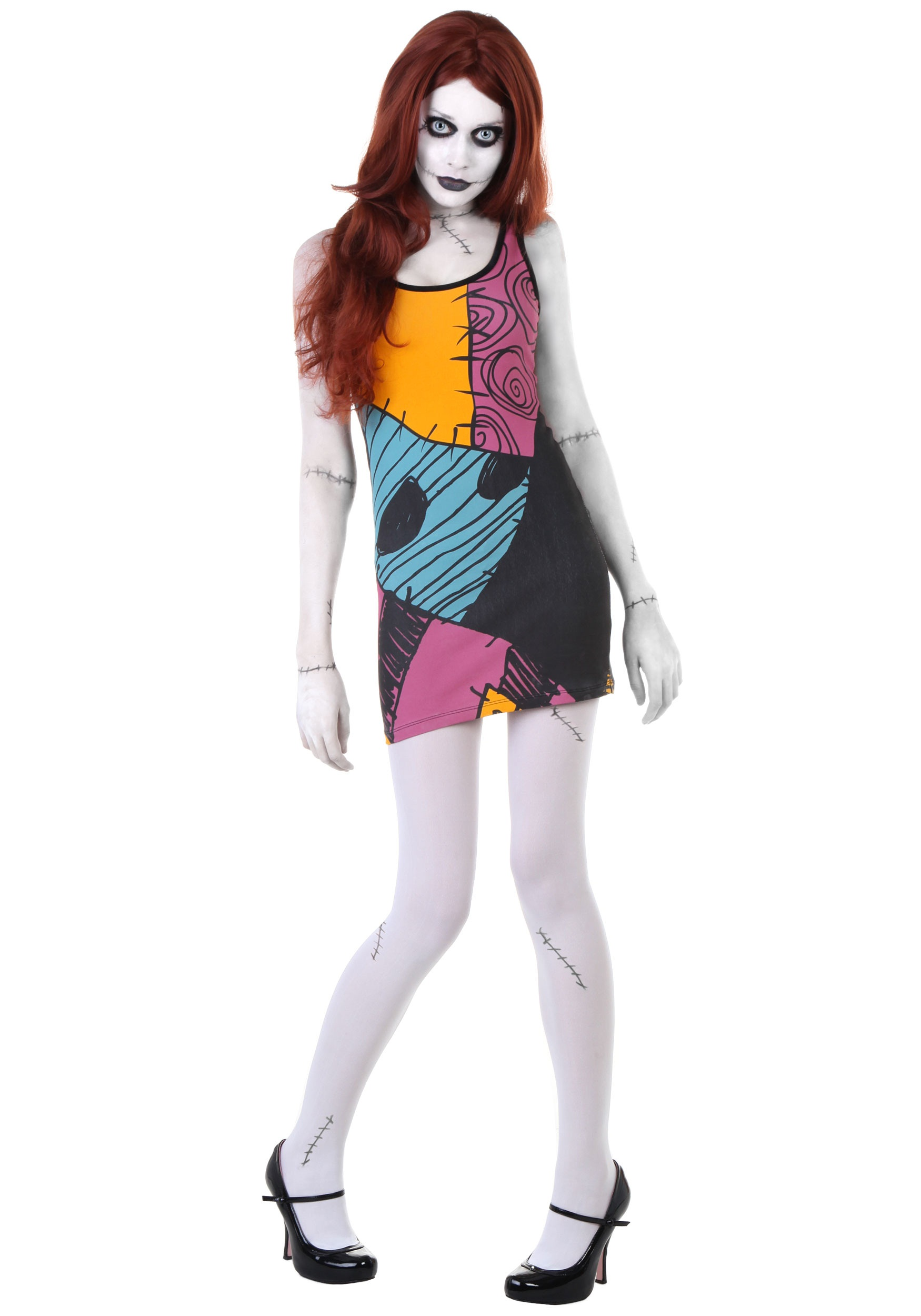 Nightmare Before Christmas Sally Tunic Tank - Halloween Costumes