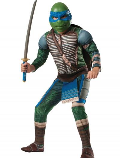 Ninja Turtle Movie Child Deluxe Leonardo Costume, halloween costume (Ninja Turtle Movie Child Deluxe Leonardo Costume)