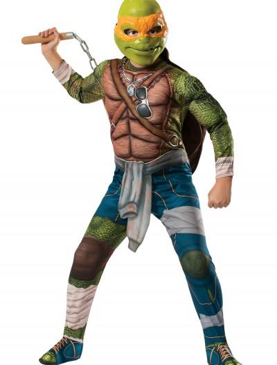 Ninja Turtle Movie Child Deluxe Michelangelo Costume, halloween costume (Ninja Turtle Movie Child Deluxe Michelangelo Costume)