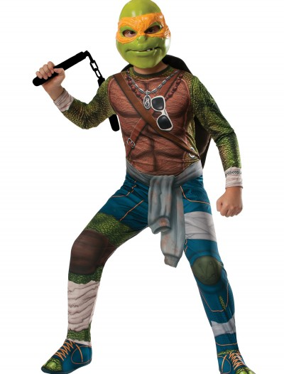 Ninja Turtle Movie Child Michelangelo Costume, halloween costume (Ninja Turtle Movie Child Michelangelo Costume)