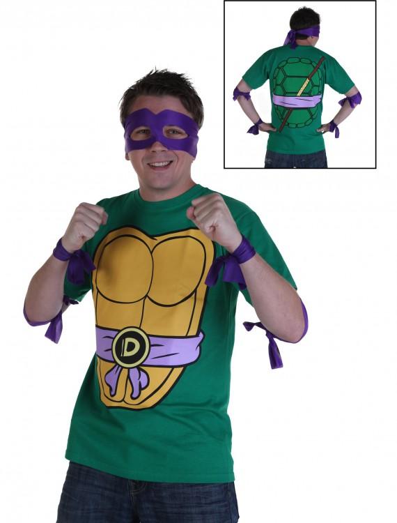 Ninja Turtles Donatello Costume T-Shirt, halloween costume (Ninja Turtles Donatello Costume T-Shirt)
