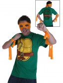 Ninja Turtles Michelangelo Costume T-Shirt, halloween costume (Ninja Turtles Michelangelo Costume T-Shirt)