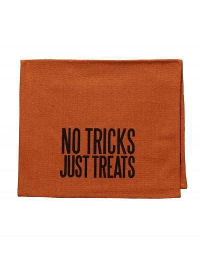 No Tricks Tea Towel, halloween costume (No Tricks Tea Towel)