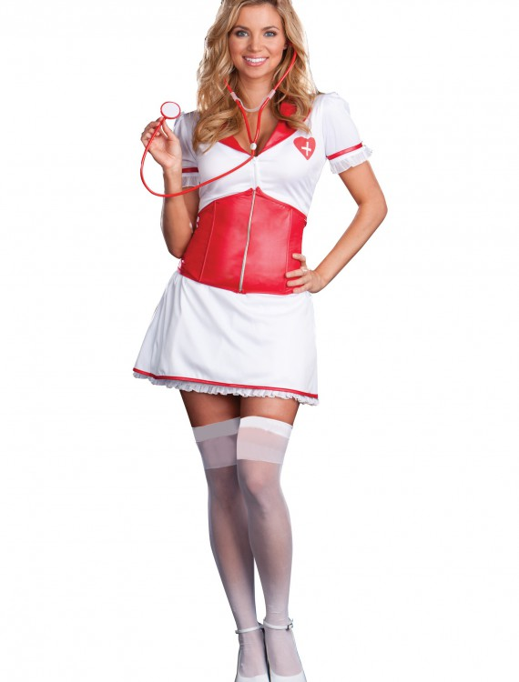 Nurse Naughty Costume, halloween costume (Nurse Naughty Costume)