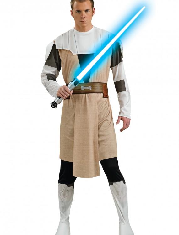 Obi Wan Kenobi Adult Clone Wars Costume, halloween costume (Obi Wan Kenobi Adult Clone Wars Costume)