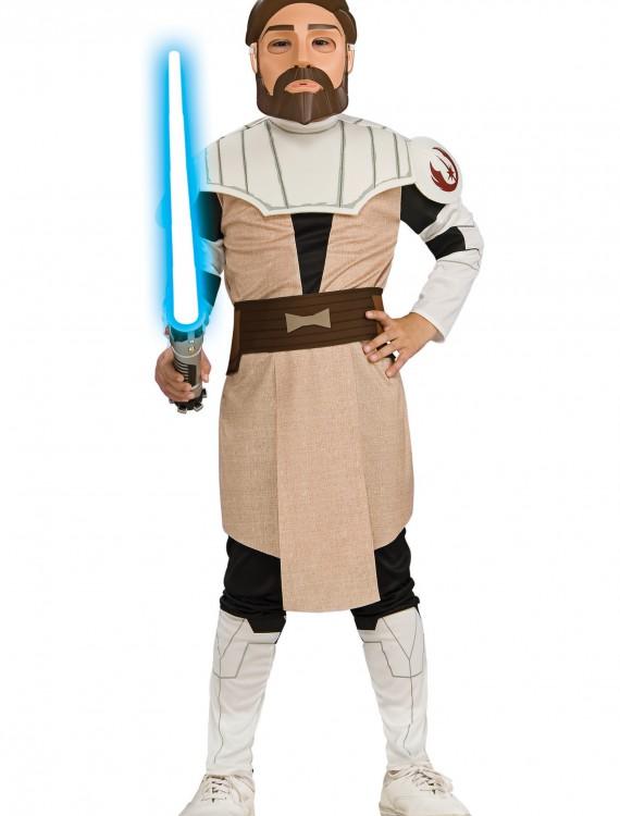 Obi Wan Kenobi Child Costume, halloween costume (Obi Wan Kenobi Child Costume)