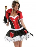 Off with Her Head Red Queen Costume, halloween costume (Off with Her Head Red Queen Costume)