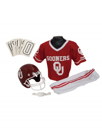 Oklahoma Sooners Child Uniform, halloween costume (Oklahoma Sooners Child Uniform)