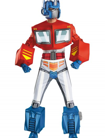 Optimus Prime Super Deluxe Adult Retro Costume, halloween costume (Optimus Prime Super Deluxe Adult Retro Costume)