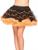 Orange and Black Tulle Petticoat, halloween costume (Orange and Black Tulle Petticoat)