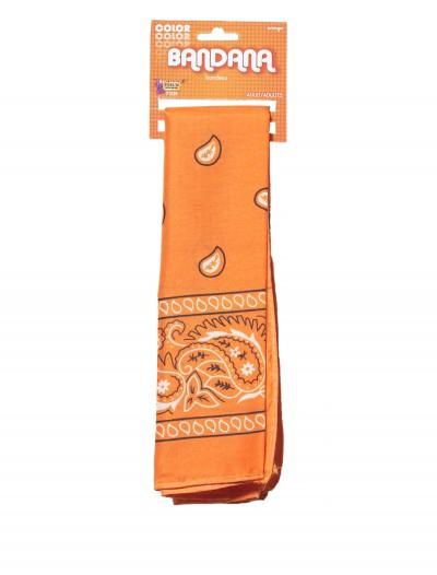 Orange Bandana, halloween costume (Orange Bandana)