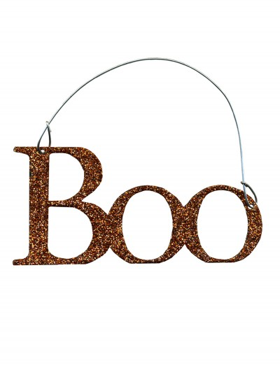 Orange Boo Sign, halloween costume (Orange Boo Sign)
