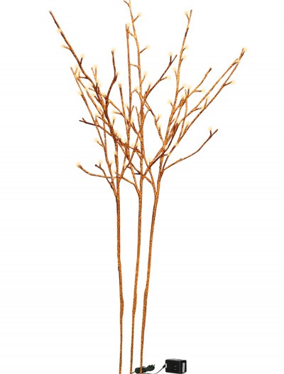 Orange Glitter Twigs, halloween costume (Orange Glitter Twigs)