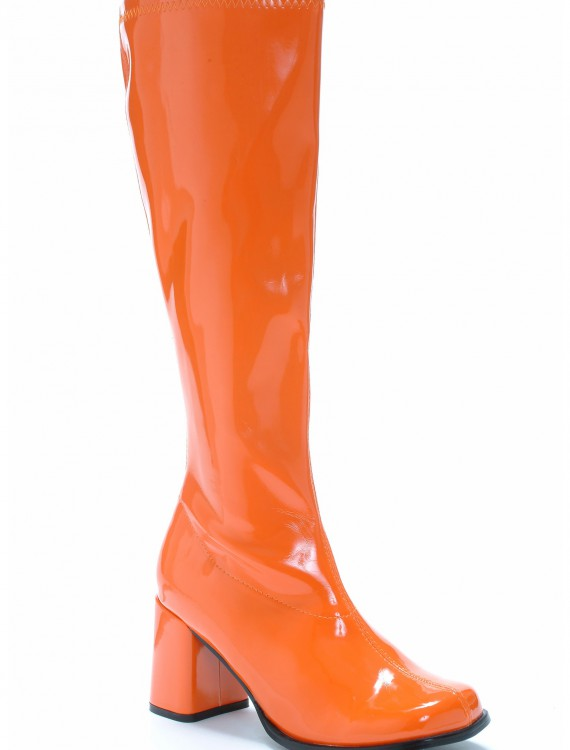 Orange Gogo Boots, halloween costume (Orange Gogo Boots)