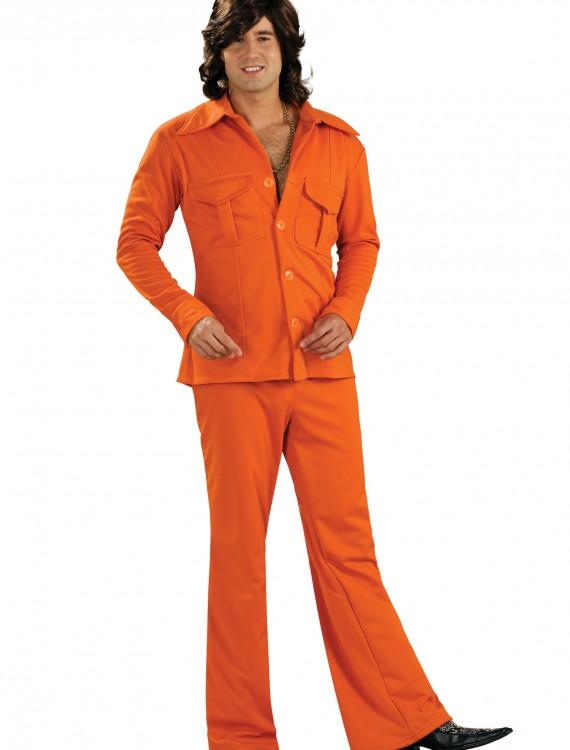 Orange Leisure Suit, halloween costume (Orange Leisure Suit)