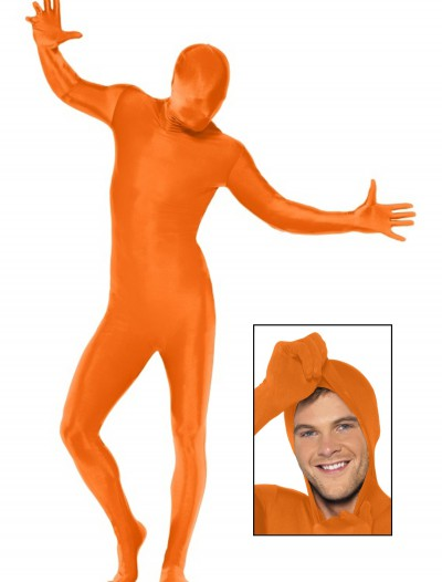 Orange Second Skin Suit, halloween costume (Orange Second Skin Suit)
