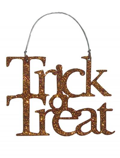 Orange Trick or Treat Sign, halloween costume (Orange Trick or Treat Sign)