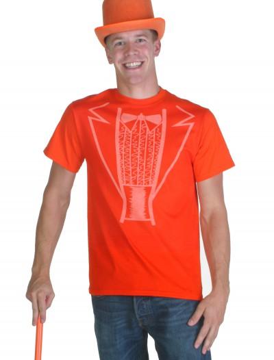 Orange Tuxedo Costume T-Shirt, halloween costume (Orange Tuxedo Costume T-Shirt)