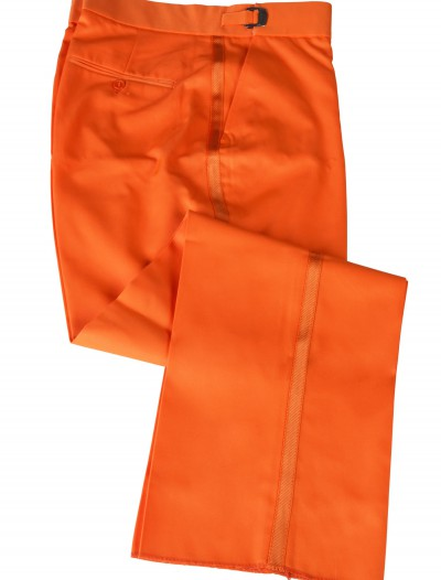 Orange Tuxedo Pants, halloween costume (Orange Tuxedo Pants)