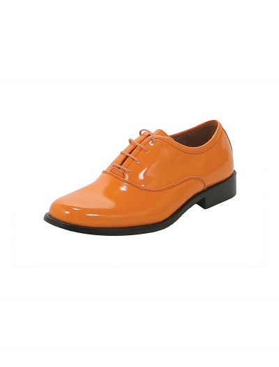Orange Tuxedo Shoes, halloween costume (Orange Tuxedo Shoes)