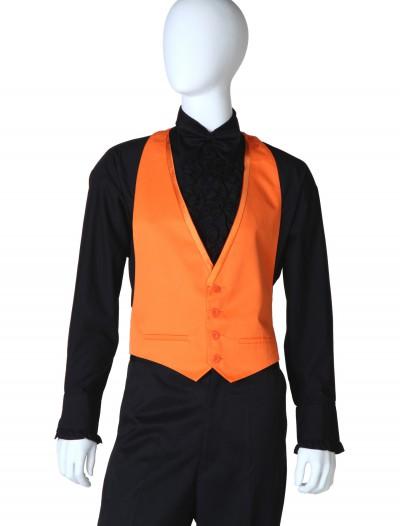 Orange Tuxedo Vest, halloween costume (Orange Tuxedo Vest)