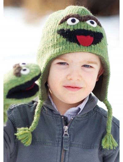 Toddler Oscar the Grouch Hat, halloween costume (Toddler Oscar the Grouch Hat)