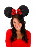 Oversized Minnie Glitter Ears, halloween costume (Oversized Minnie Glitter Ears)