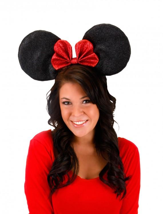Oversized Minnie Glitter Ears, halloween costume (Oversized Minnie Glitter Ears)