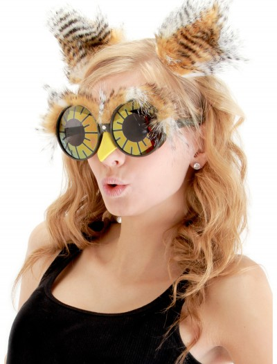Owl Ears and Glasses, halloween costume (Owl Ears and Glasses)