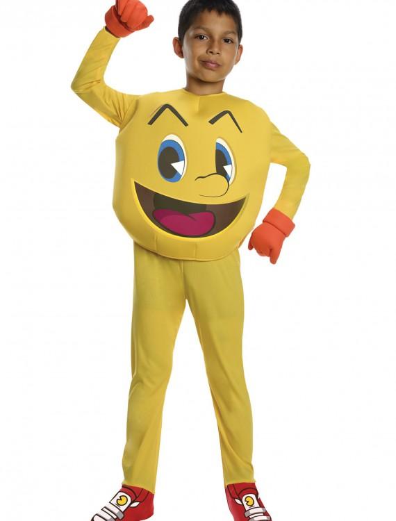 Pac Man Deluxe Child Costume, halloween costume (Pac Man Deluxe Child Costume)