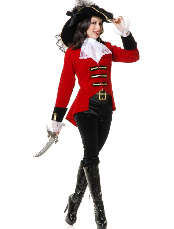 Womens Regal Pirate Lady Costume, halloween costume (Womens Regal Pirate Lady Costume)