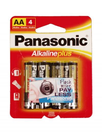 Panasonic Alkaline Plus AA Batteries 4-Pack, halloween costume (Panasonic Alkaline Plus AA Batteries 4-Pack)
