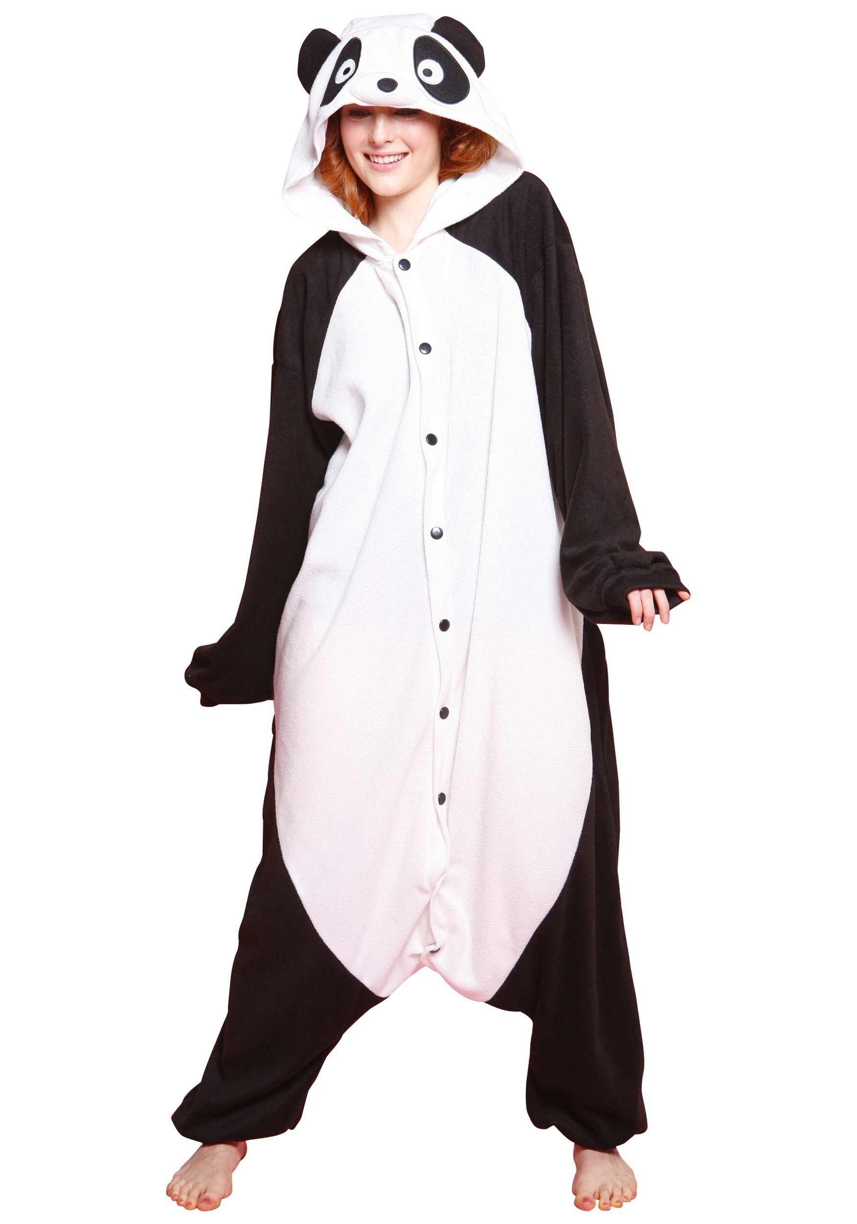 Panda Pajama Costume  sc 1 st  Halloween Costumes : panda halloween costume men  - Germanpascual.Com