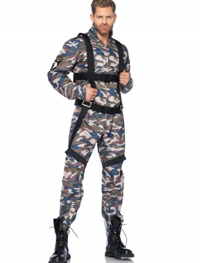 Paratrooper Adult Men's Costume, halloween costume (Paratrooper Adult Men's Costume)